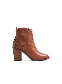 Cathrina western ankle boot