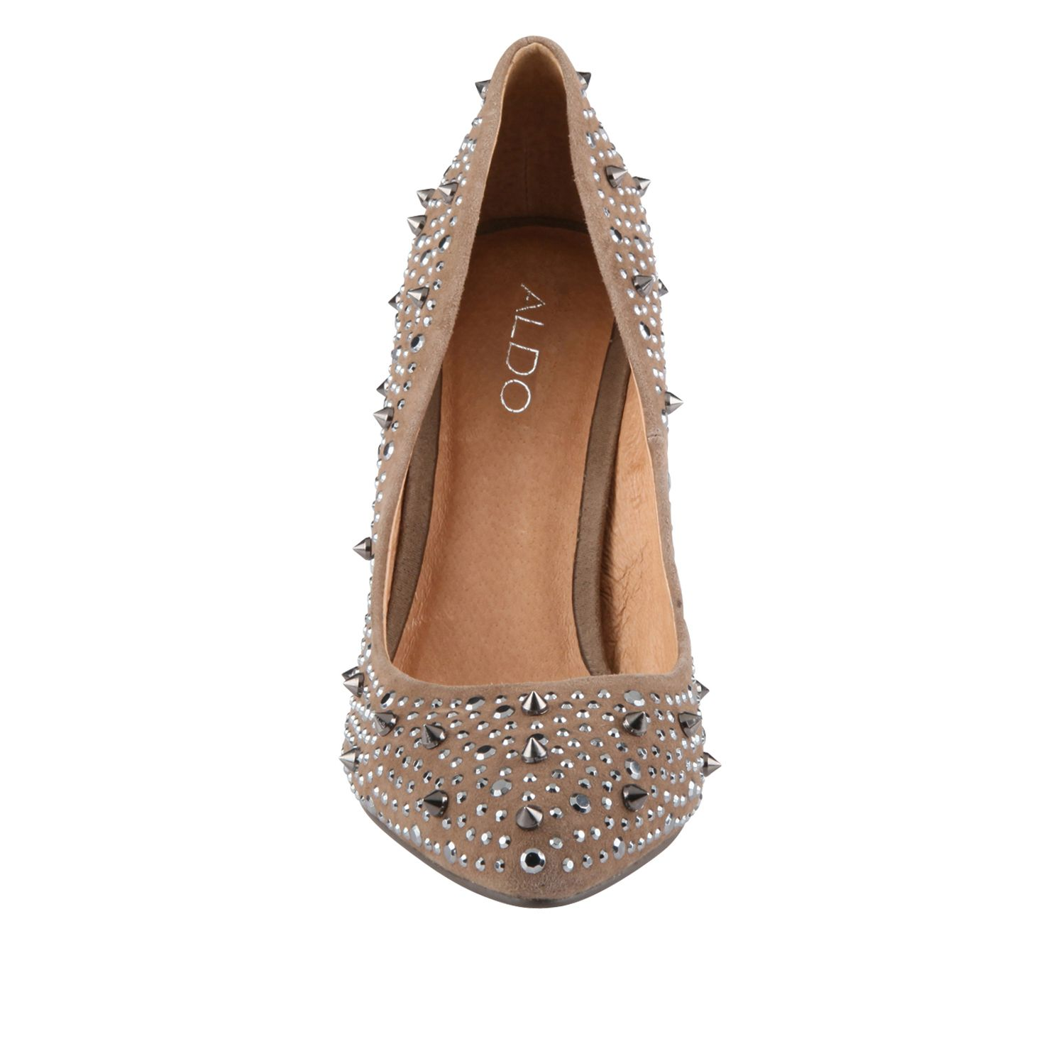 Perusia Studded Court Shoes