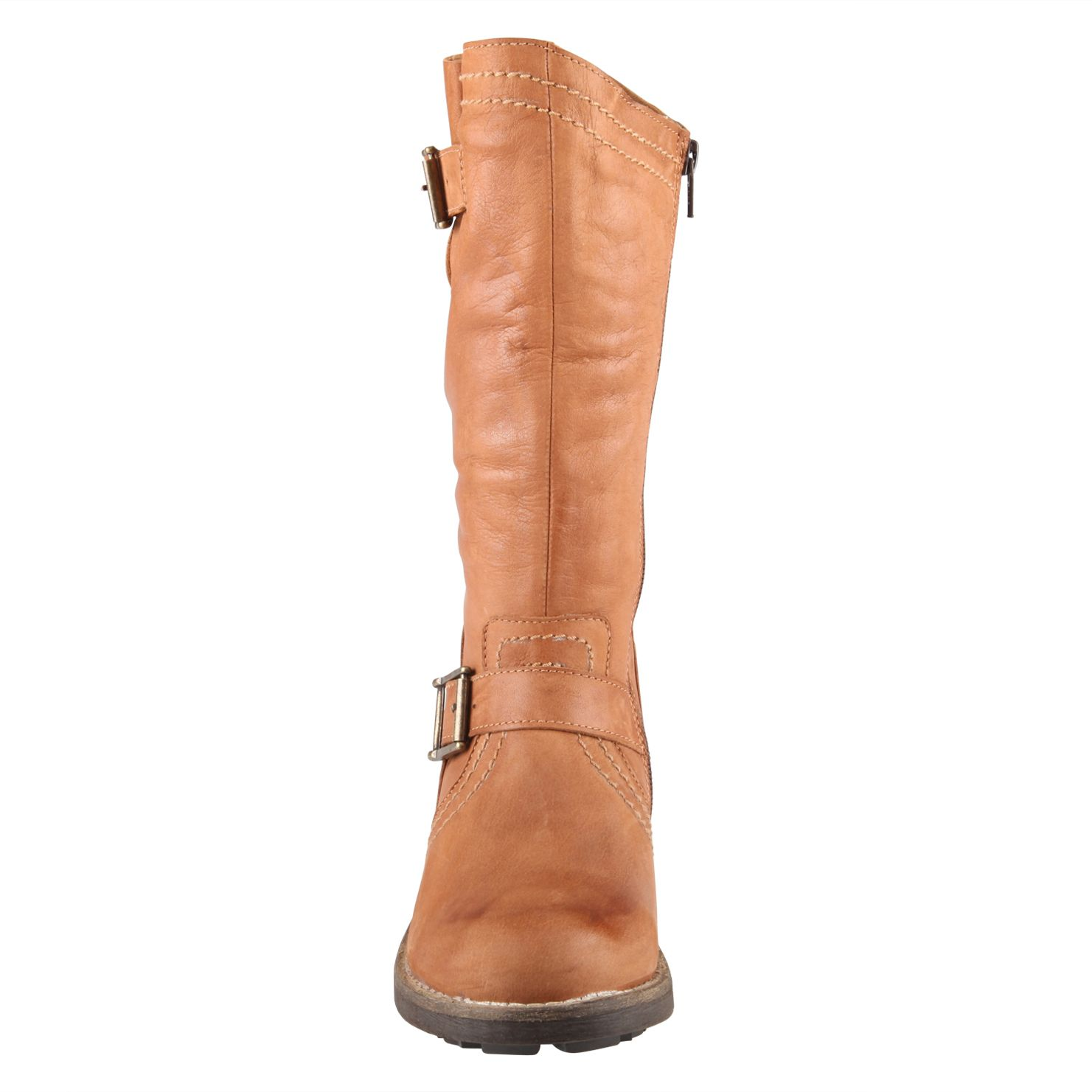 Billingsa metal detail calf boots