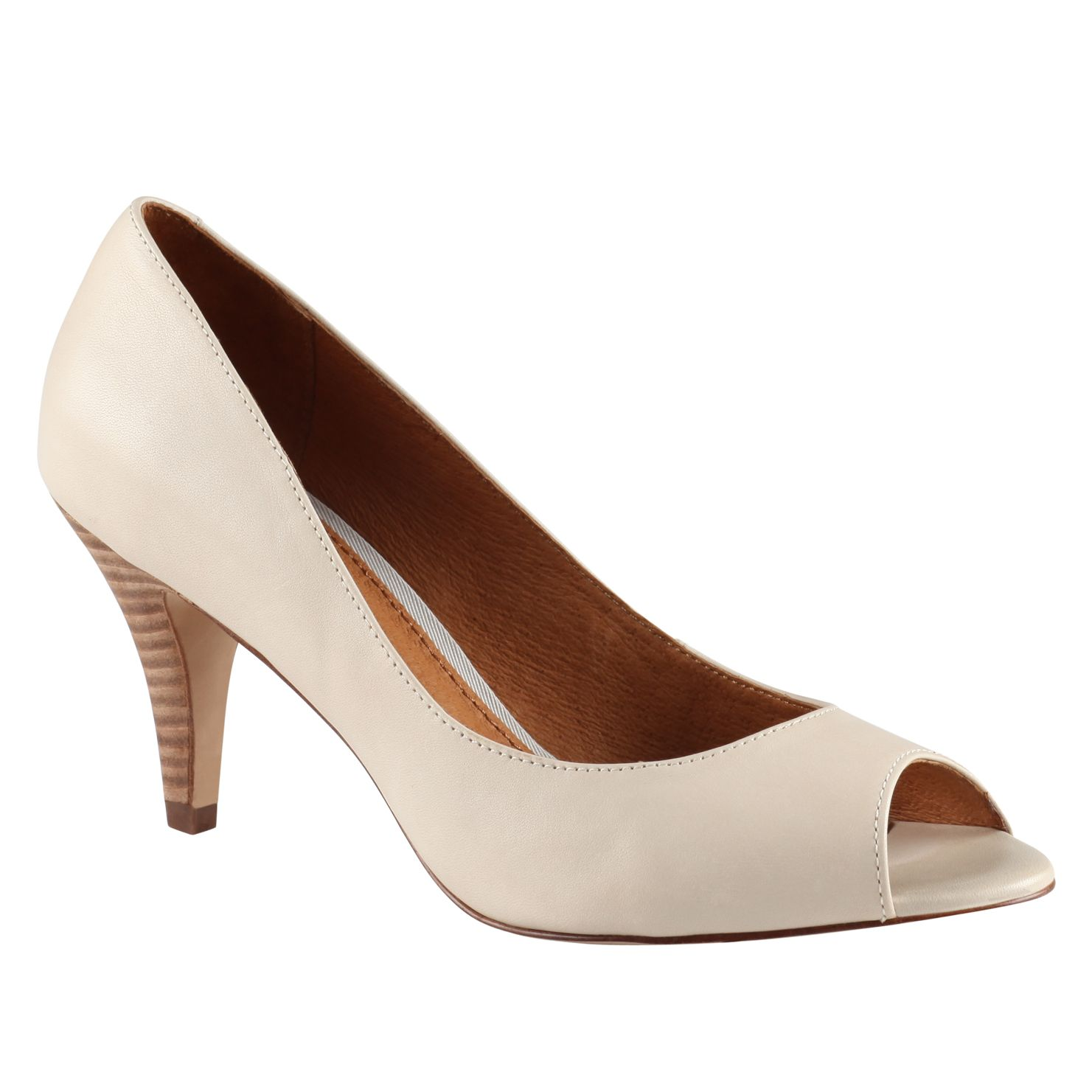 Karise Peep Toe Court Shoes