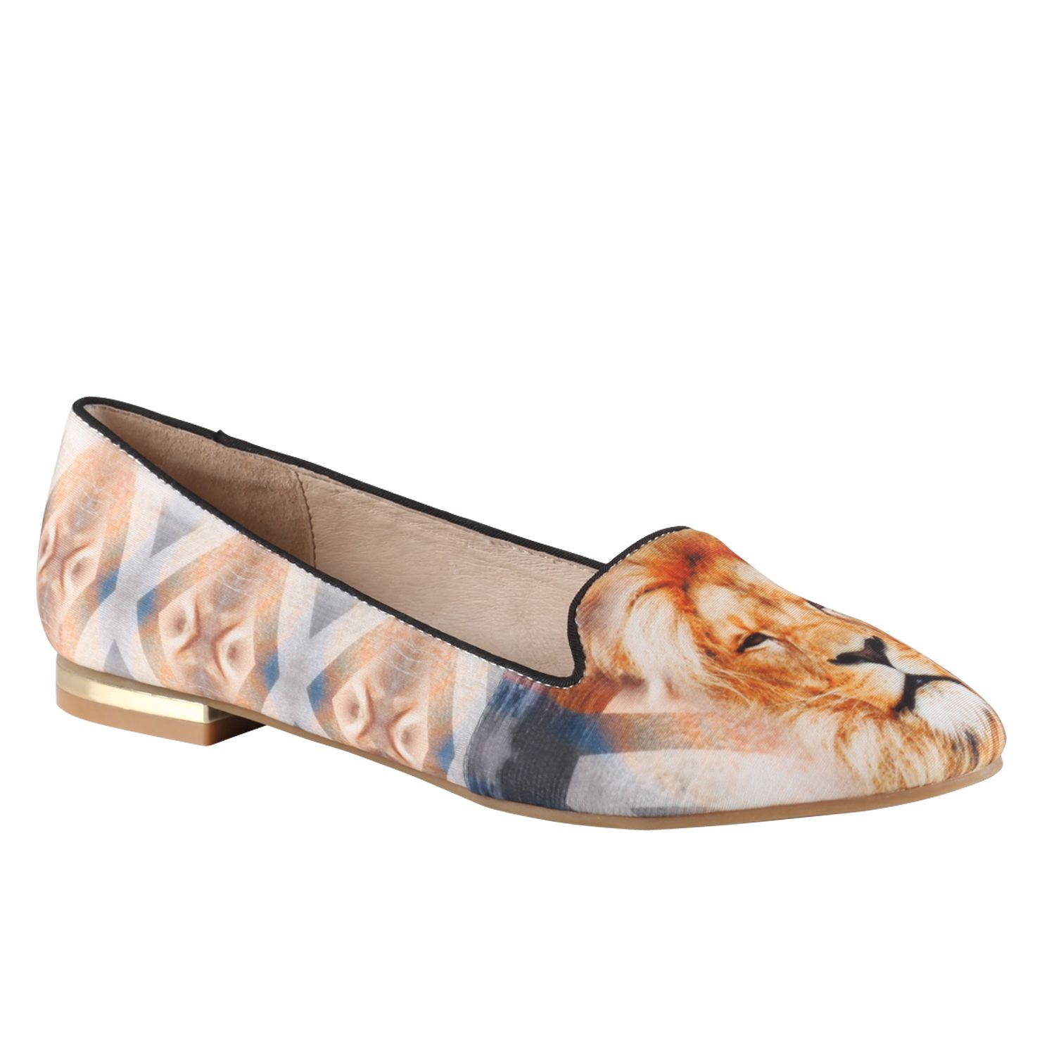 Abegaila print pump shoes