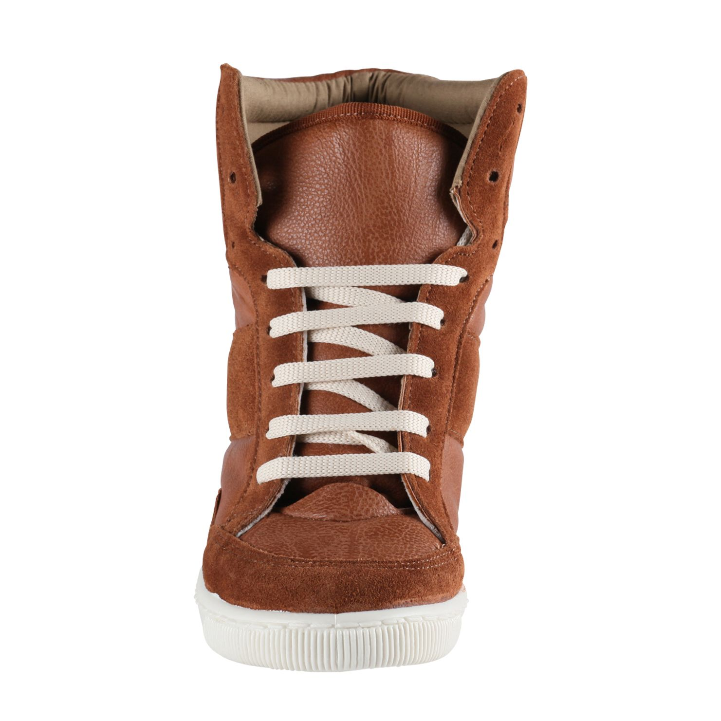 Sen hi top wedge trainer shoes