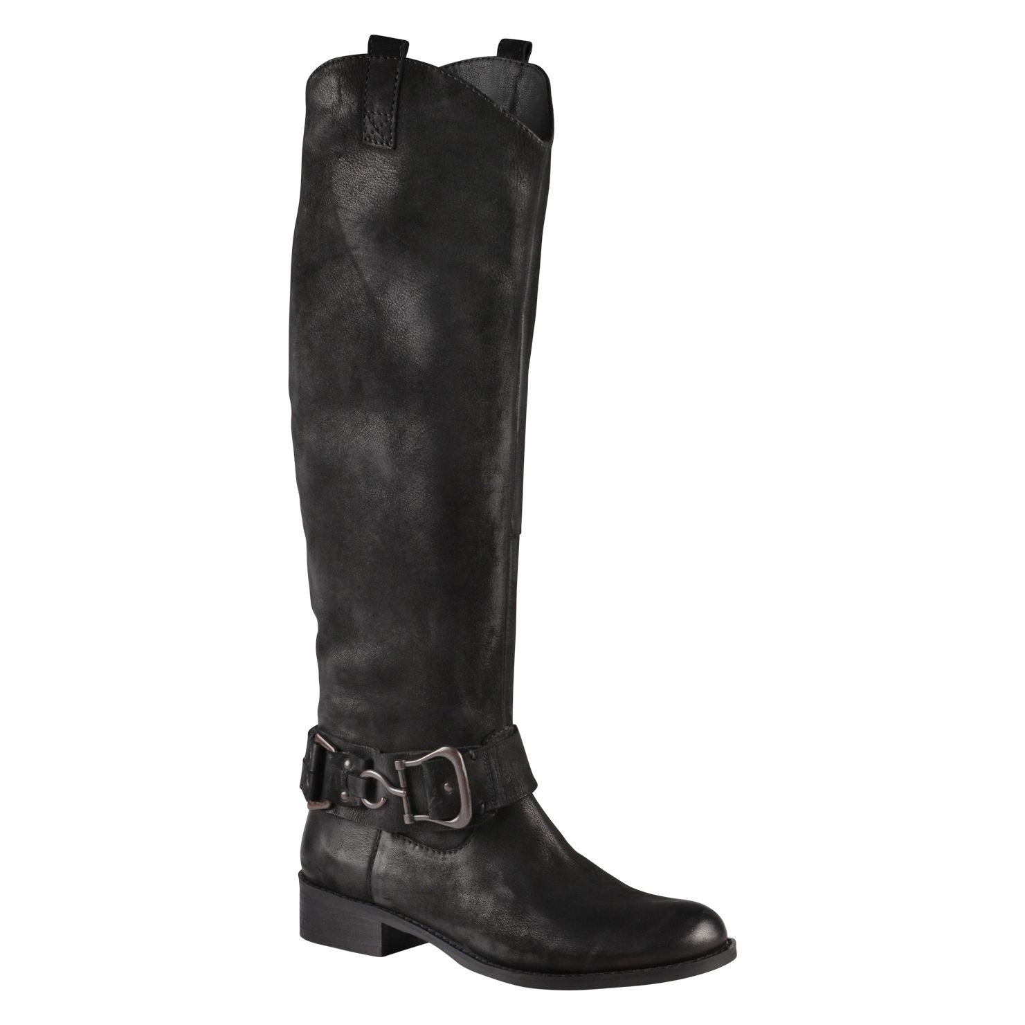 Daelyn Block Round Toe Boots