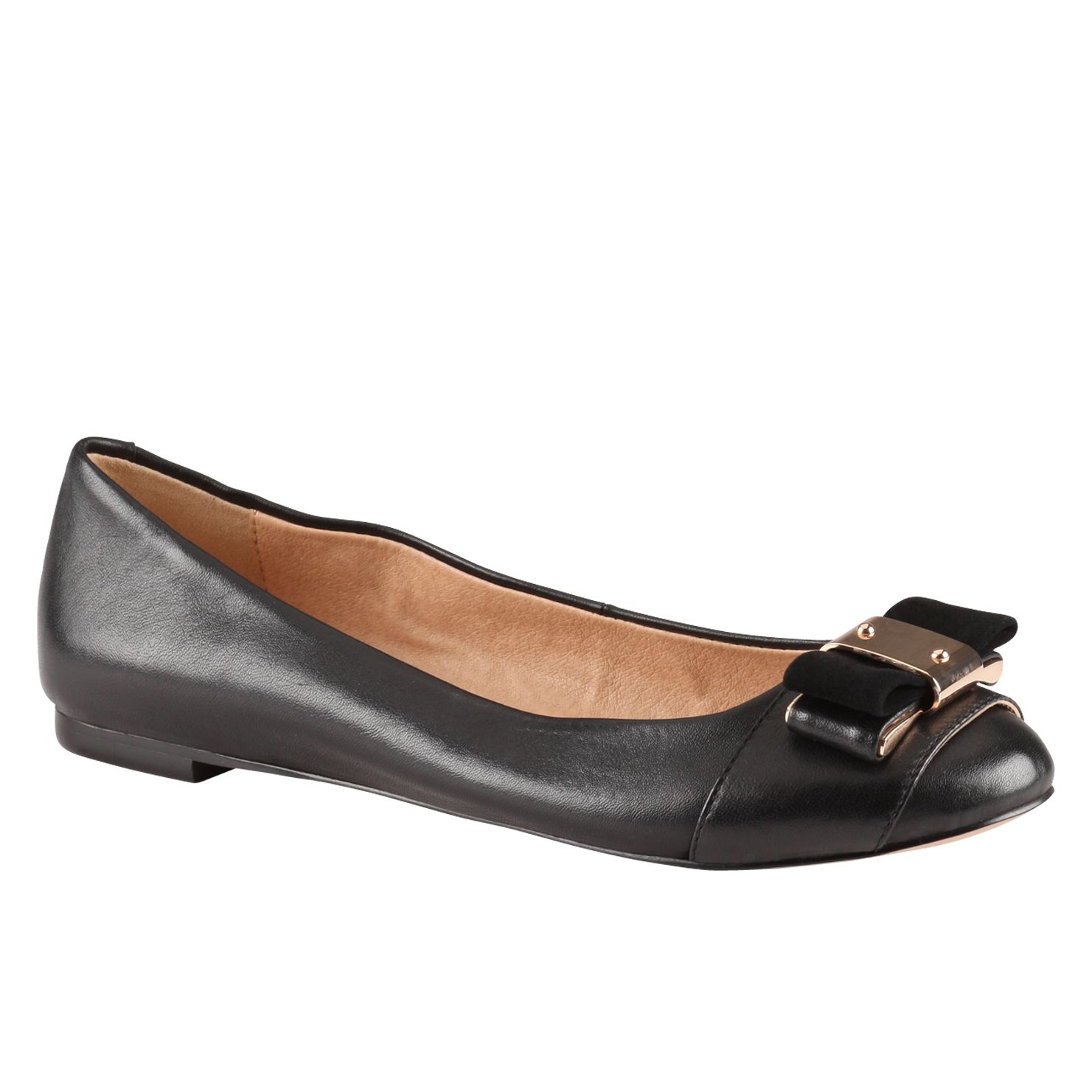 Juricek flat round toe pump shoes