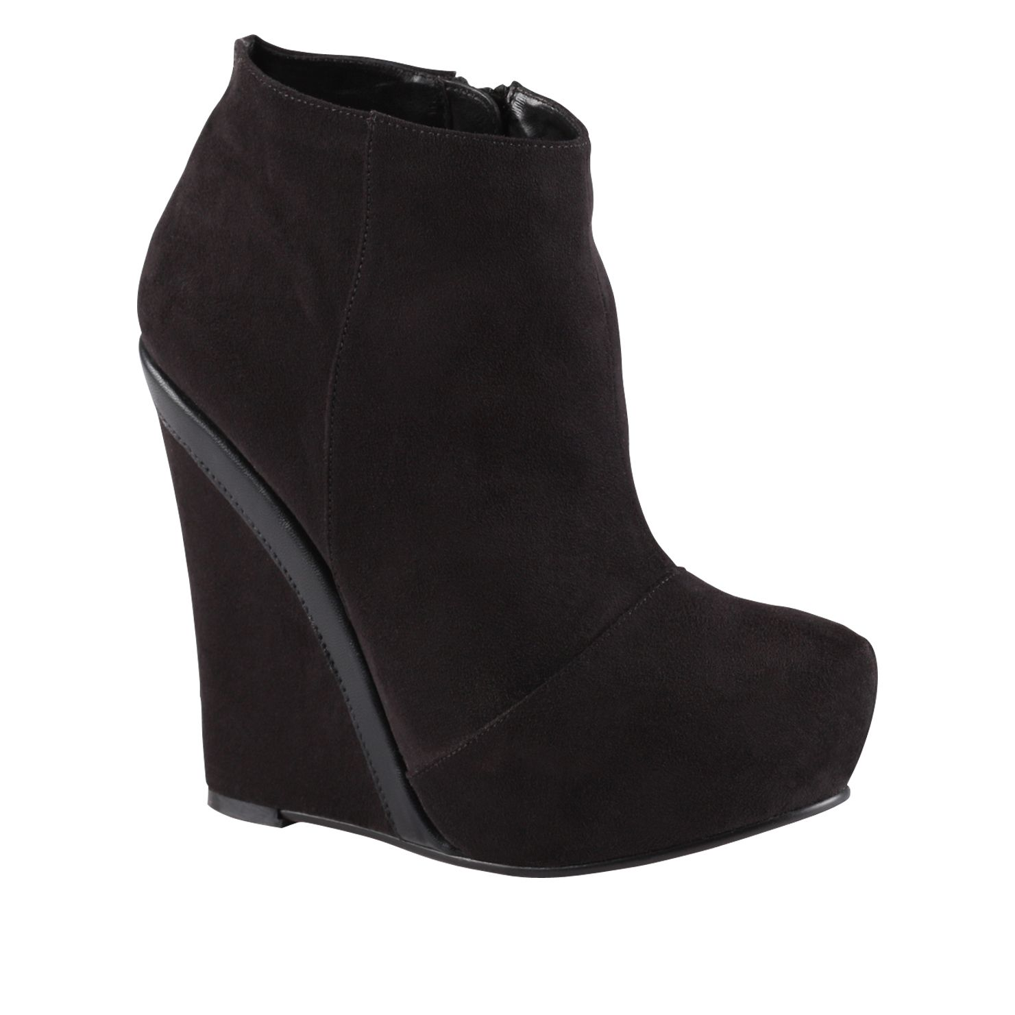 Flogolo almond toe wedge boots