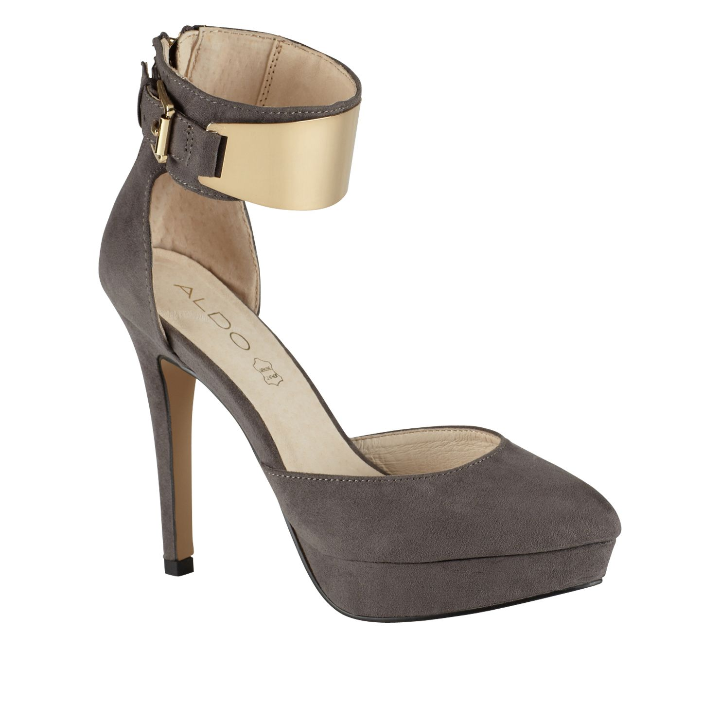 Dwaydien almond toe stilleto court shoes