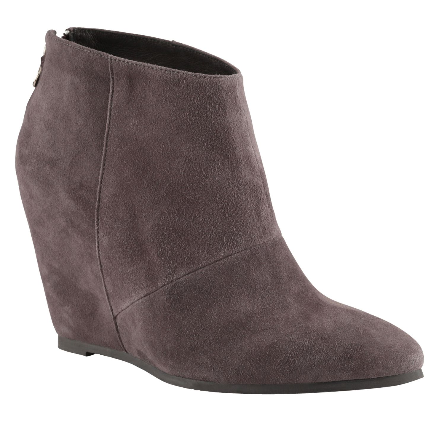 Dwaenia pointed toe wedge boots