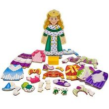 Melissa & Doug Princess elise magnetic dress-up