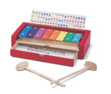 Melissa & Doug Wooden Learn-to-Play Xylophone
