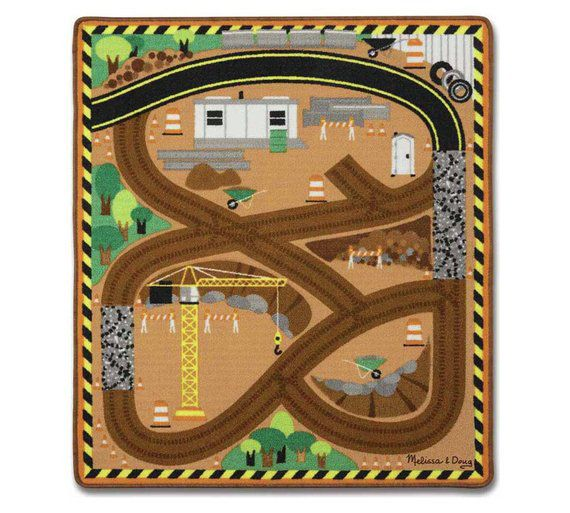 Image of Melissa & Doug Construction Truck Rug