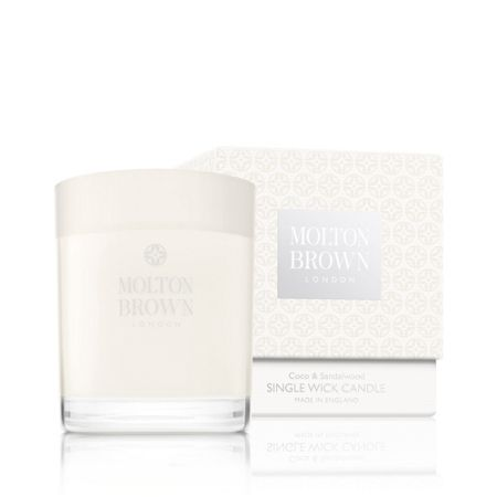 Molton Brown Coco & Sandalwood Single Wick Candle
