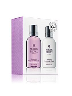 Molton Brown Honeysuckle & White Tea Bathing Gift