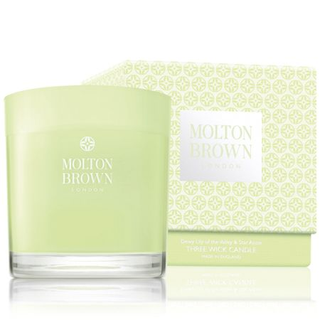 Molton Brown Lily of the Valley Three Wick Candle