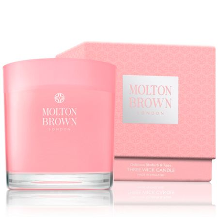 Molton Brown Rhubarb & Rose Three Wick Candle