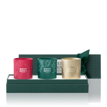 Molton Brown Festive Adorned Candle Set