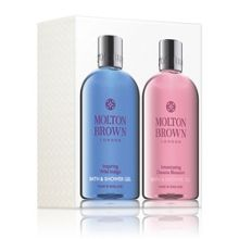 Molton Brown Inspiring Wild Indigo Blossom Body Wash Set