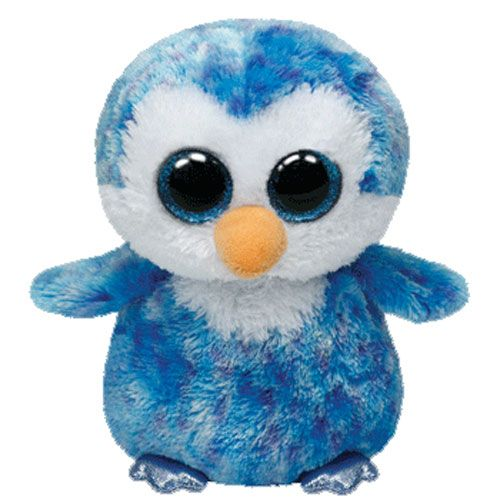 TY Ice Cubes the Penguins 6 Beanie Boo 36741