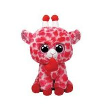 TY Jungle Love 24cm Pink Giraffe Buddy 36973