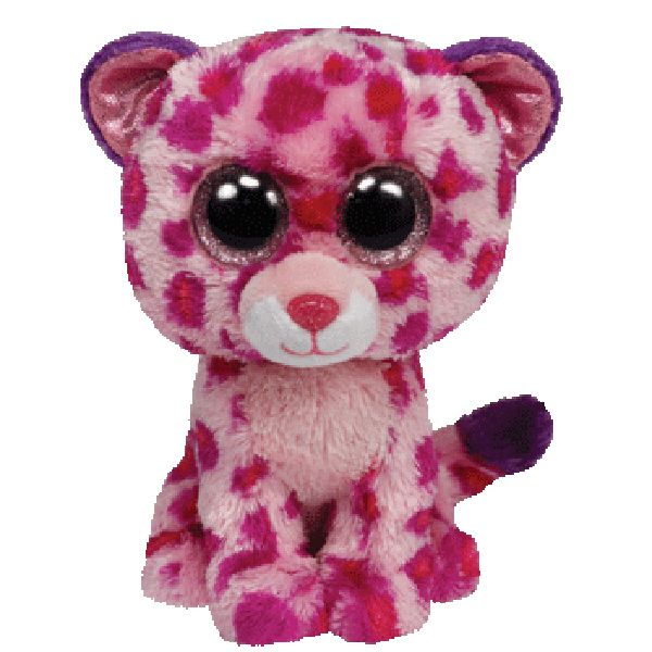 TY Glamour the Leopard 13 Boo Buddy 36985