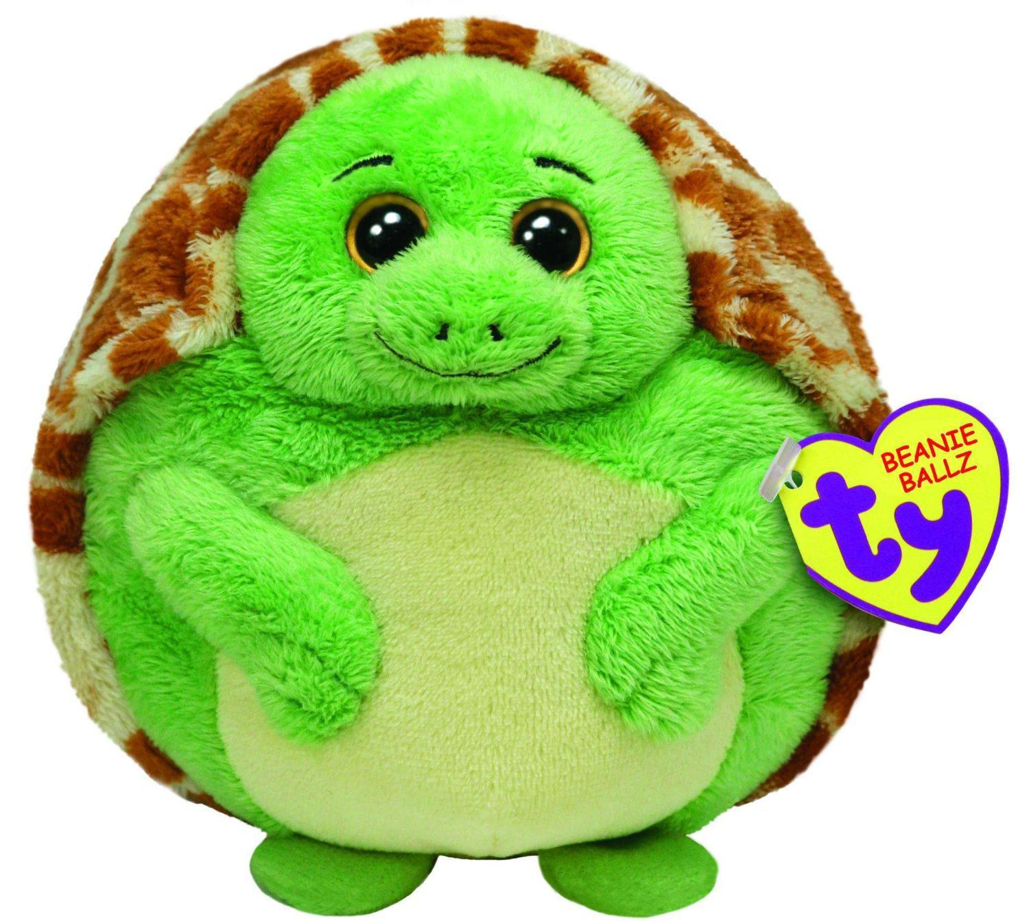 TY Zoom Turtle 13 Large Beanie Ballz 38904