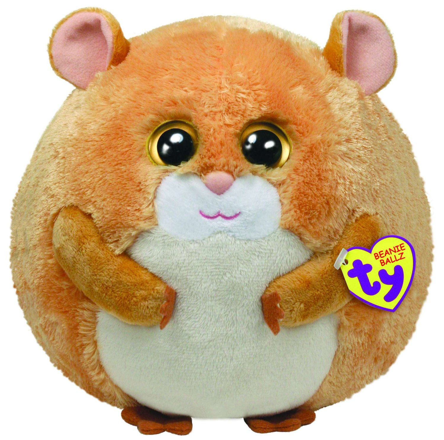 TY Flash Hamster Large Beanie Ballz 38915