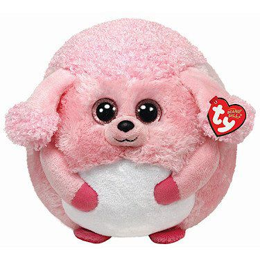 TY Lovely the Poodle Large Beanie Ballz 38928