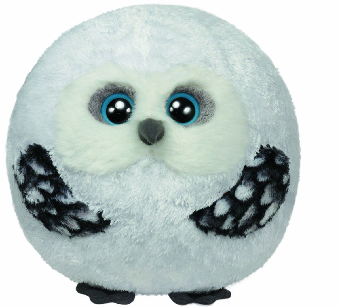 TY Hoots the Owl Large Beanie Ballz 38957