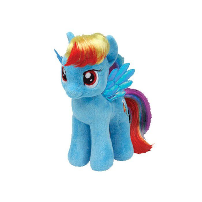 TY My little Pony 6 Rainbow Dash 41005