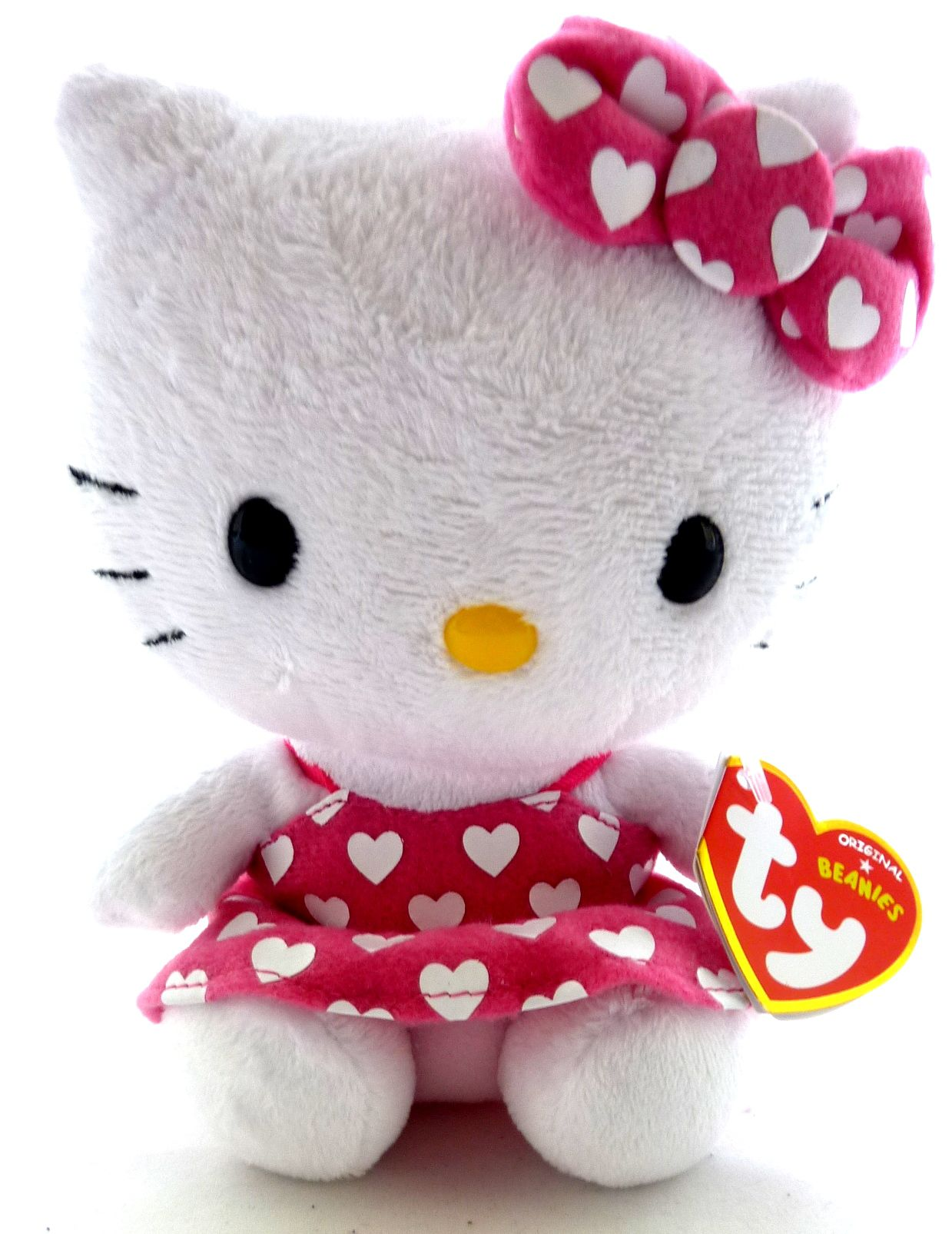TY Hello Kitty 15 with Pink dress