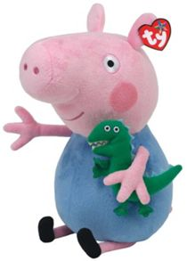 Peppa Pig Buddy George Soft Toy