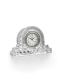 Waterford Lismore small mantel clock 6cm