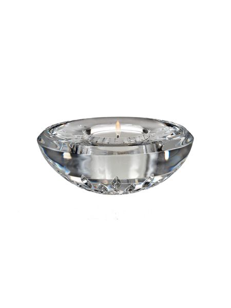 Waterford Classic lismore votive, with candle