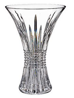 Waterford Lismore diamond 35cm vase