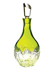 Waterford Waterford mixology neon lime green decanter