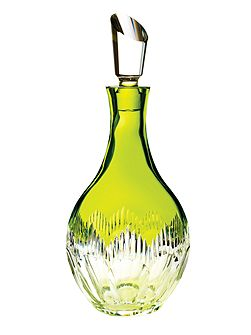 Waterford mixology neon lime green decanter