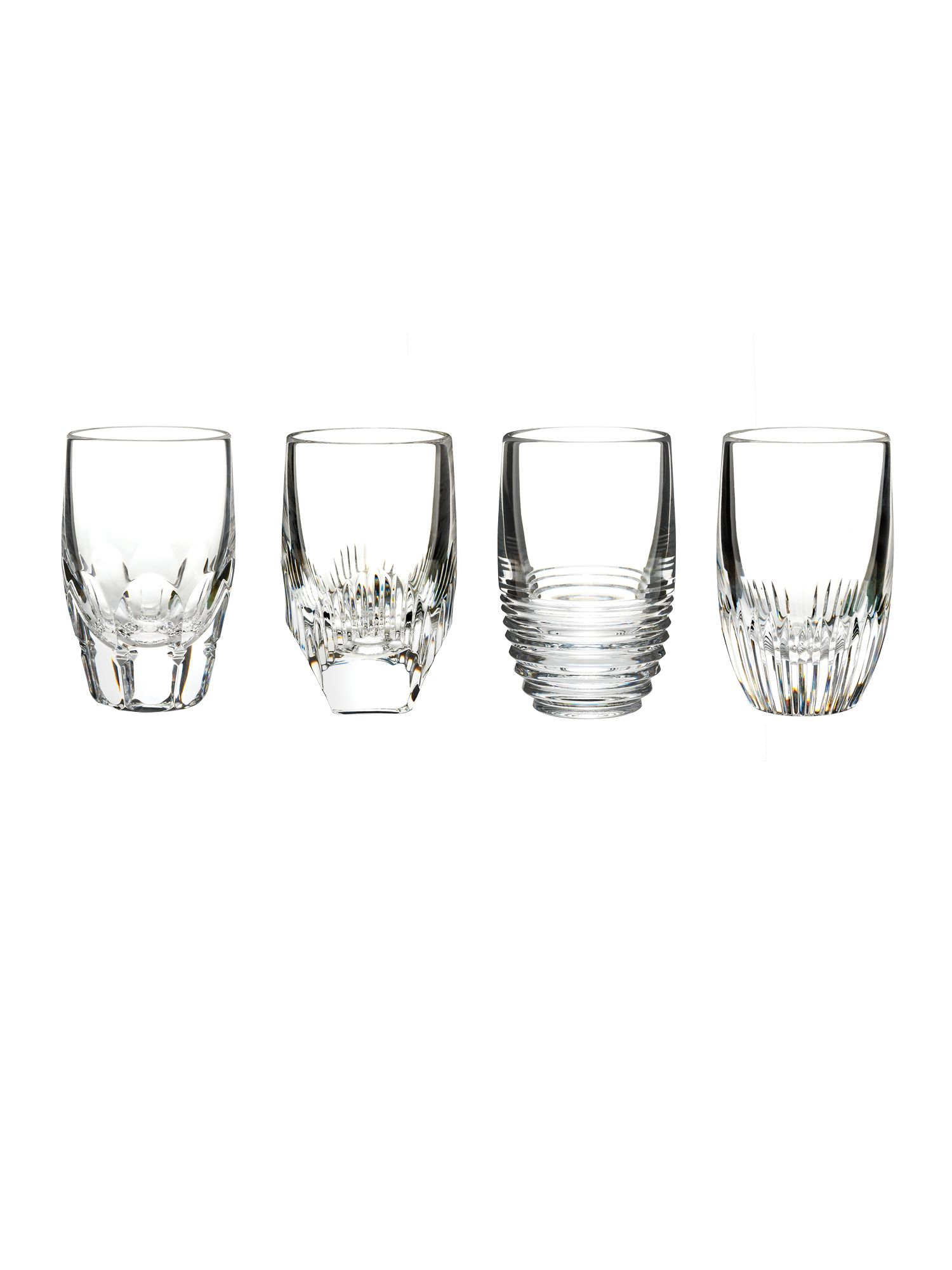 Waterford Mixology shot glasses set of 4
