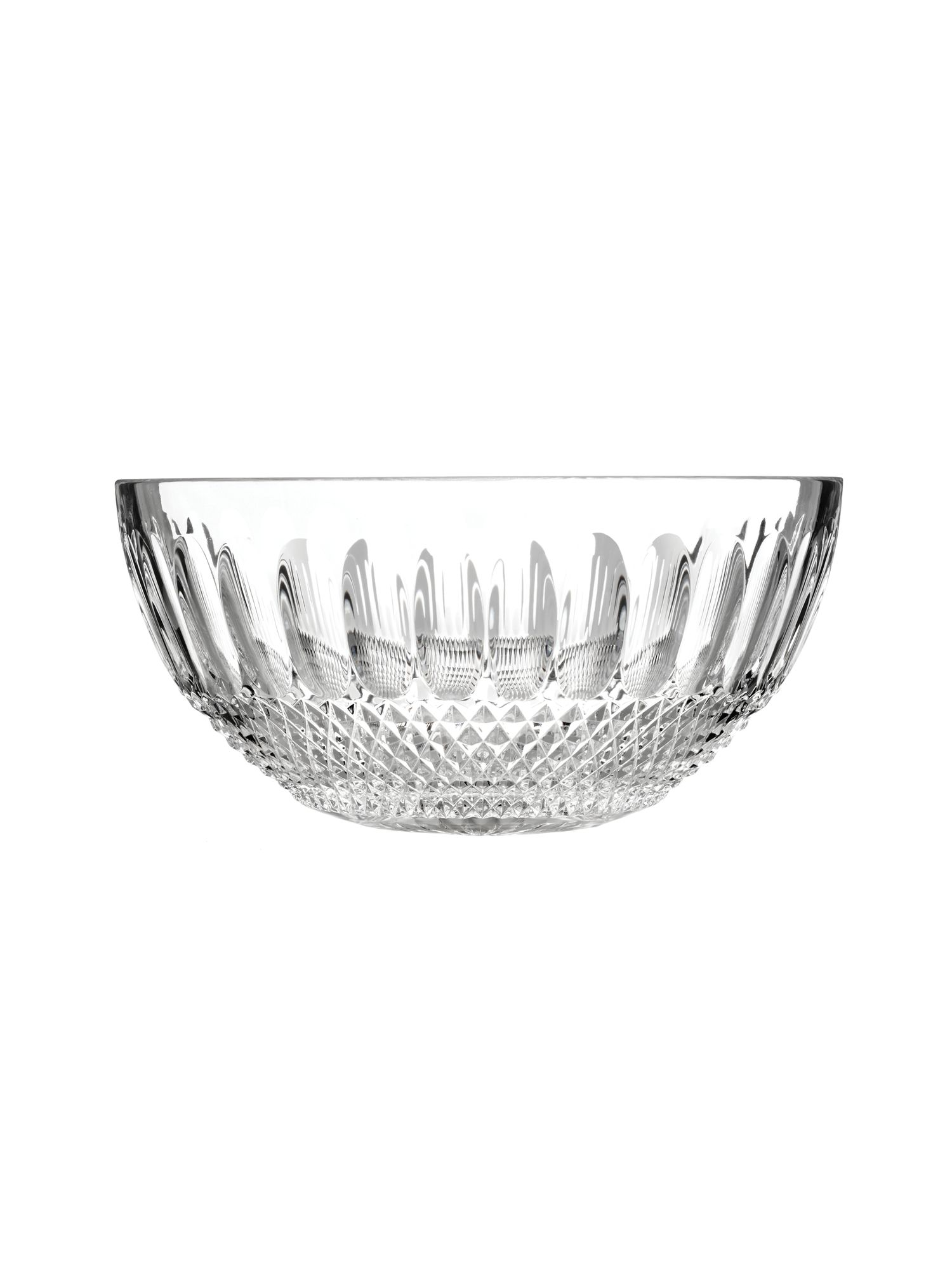 Colleen 60th anniversary 8 inch clear bowl