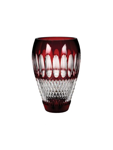 Waterford Colleen 60th anniversary 8 inch ruby vase