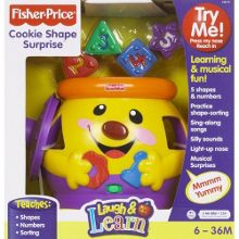 Fisher Price Laugh n Learn cookie shape surprise