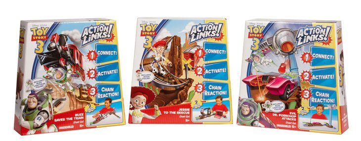 Toy Story 3 Action Links set