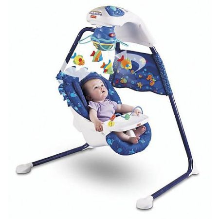 Fisher Price Ocean Wonders Cradle Swing
