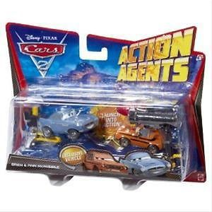 Disney Cars Action Agents 2 pack  V4245