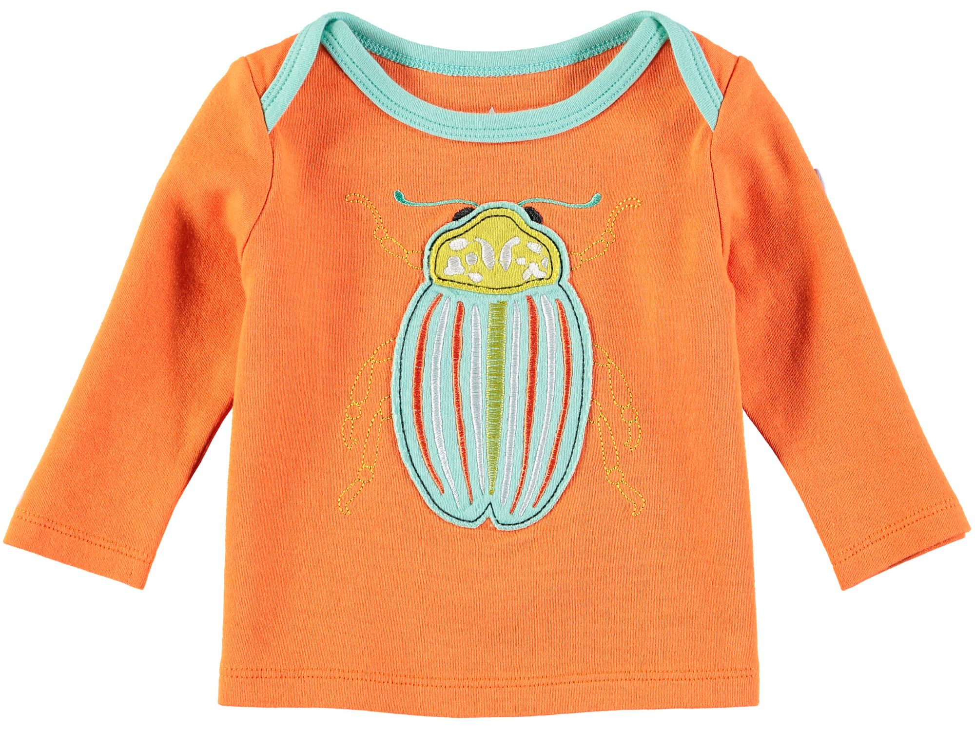 Rockin' Baby Rockin' Baby Boys Orange Bug T-Shirt, Orange
