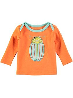Boys Orange Bug T-Shirt