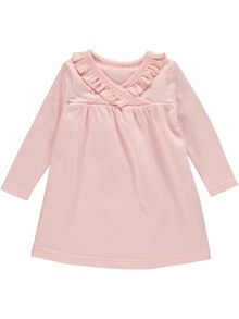 Rockin' Baby Girls Pink Wrap Dress