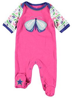Girls Butterfly Onesie