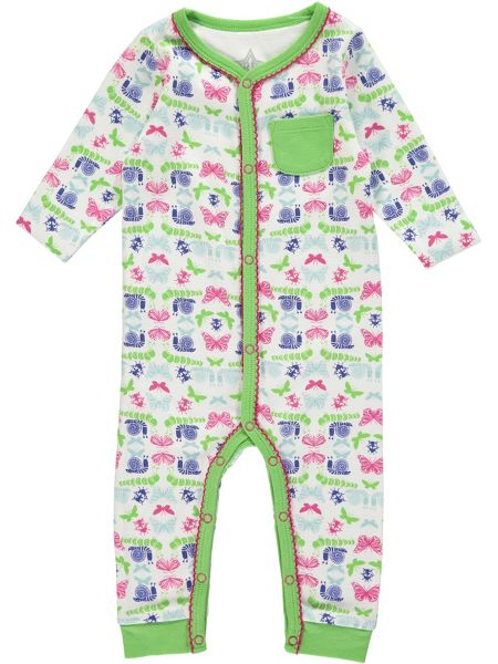 Rockin' Baby Girls Bug Footless All-in-One