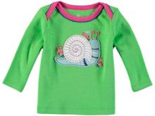 Rockin' Baby Girls Long Sleeve Snail T-Shirt