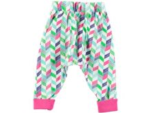 Rockin' Baby Girls Chevron Print Leggings