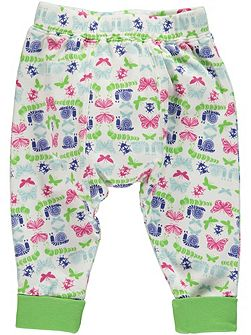 Girls Bug Print Leggings